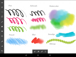 MediBang Paint Pro Default Brushes