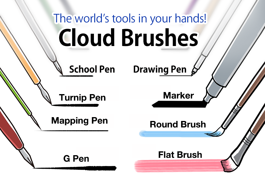 Firealpaca paint brushes download | Brushes and other