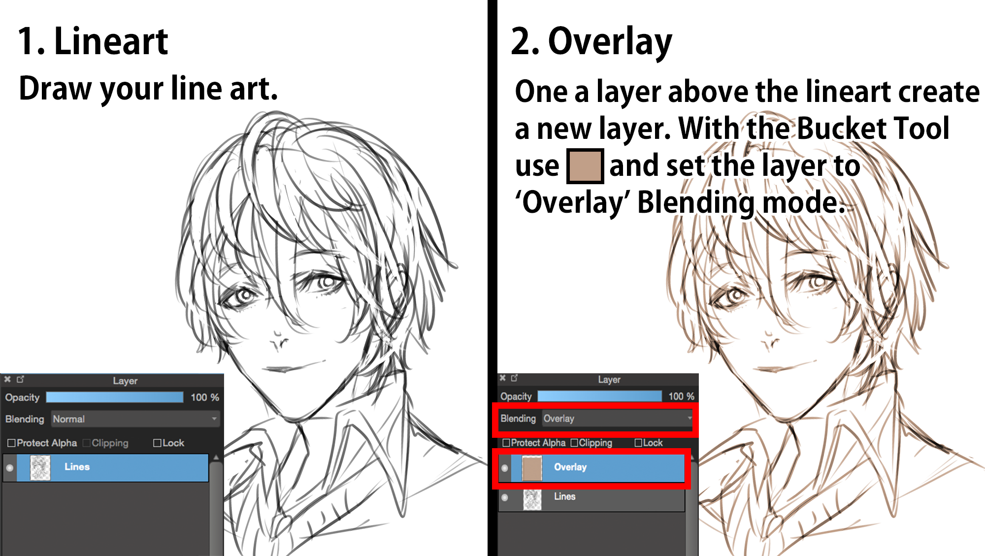 Quick Coloring Tutorial | MediBang Paint