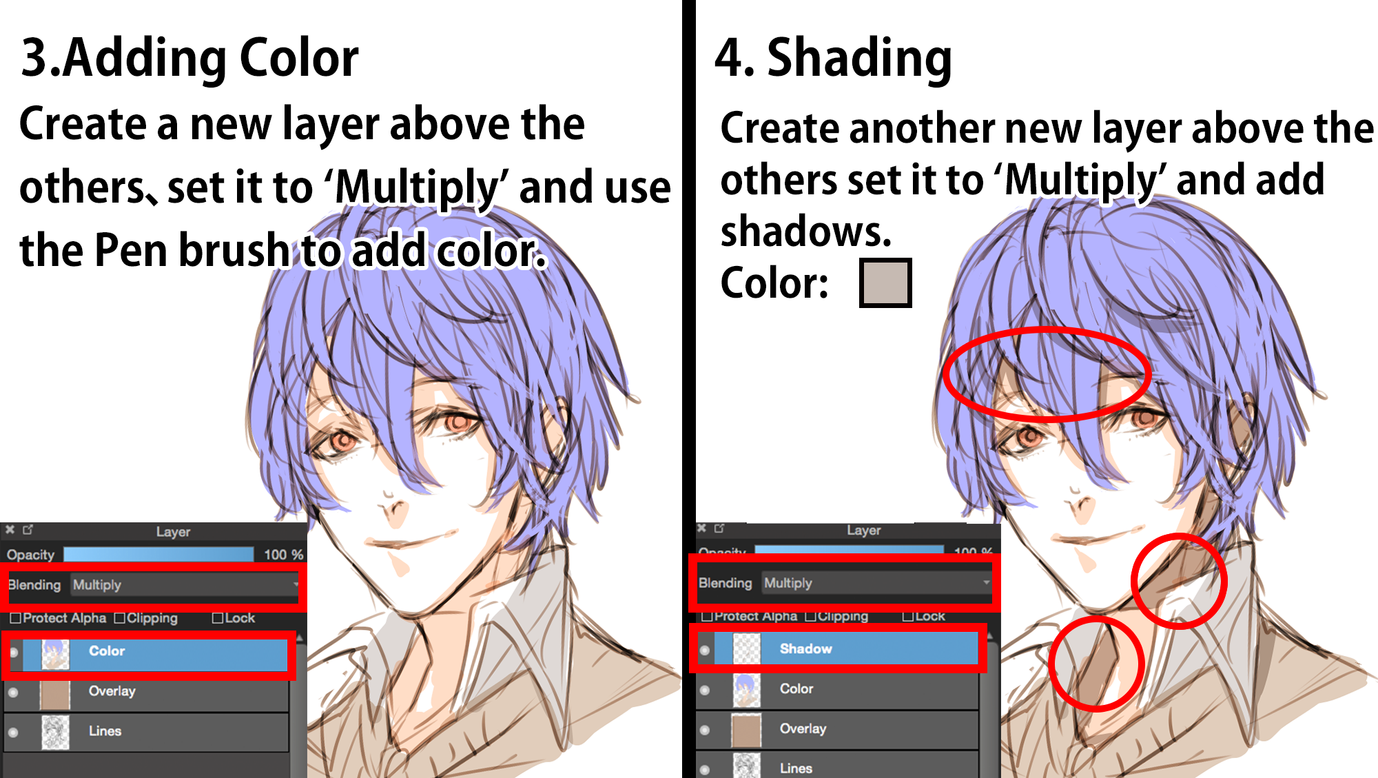 quick coloring tutorial medibang paint