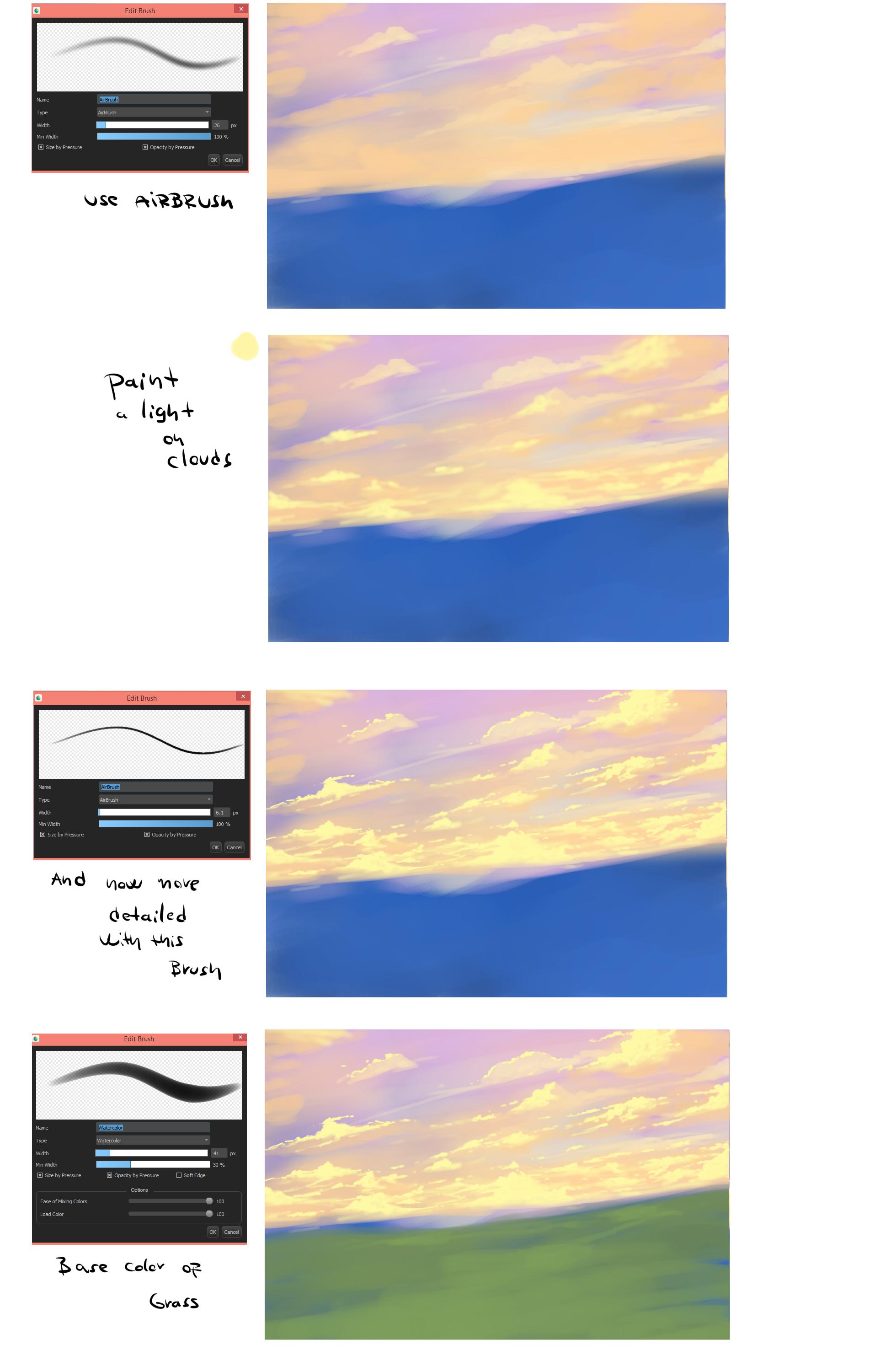 Ryky's Scenery Tutorial | MediBang Paint