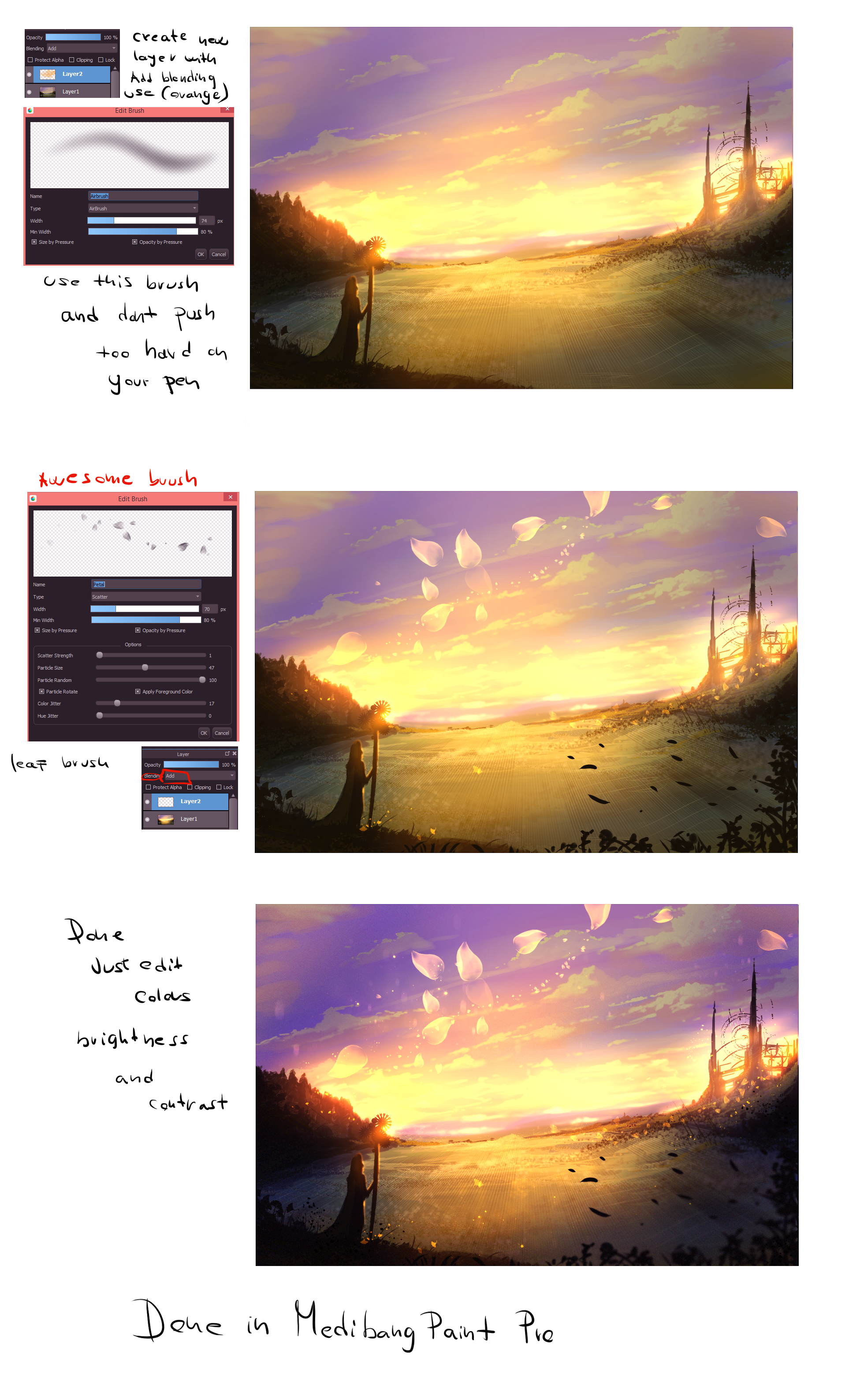 how to draw clouds in medibang