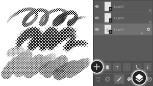 How to Use Halftone Layers in MediBang Paint Android