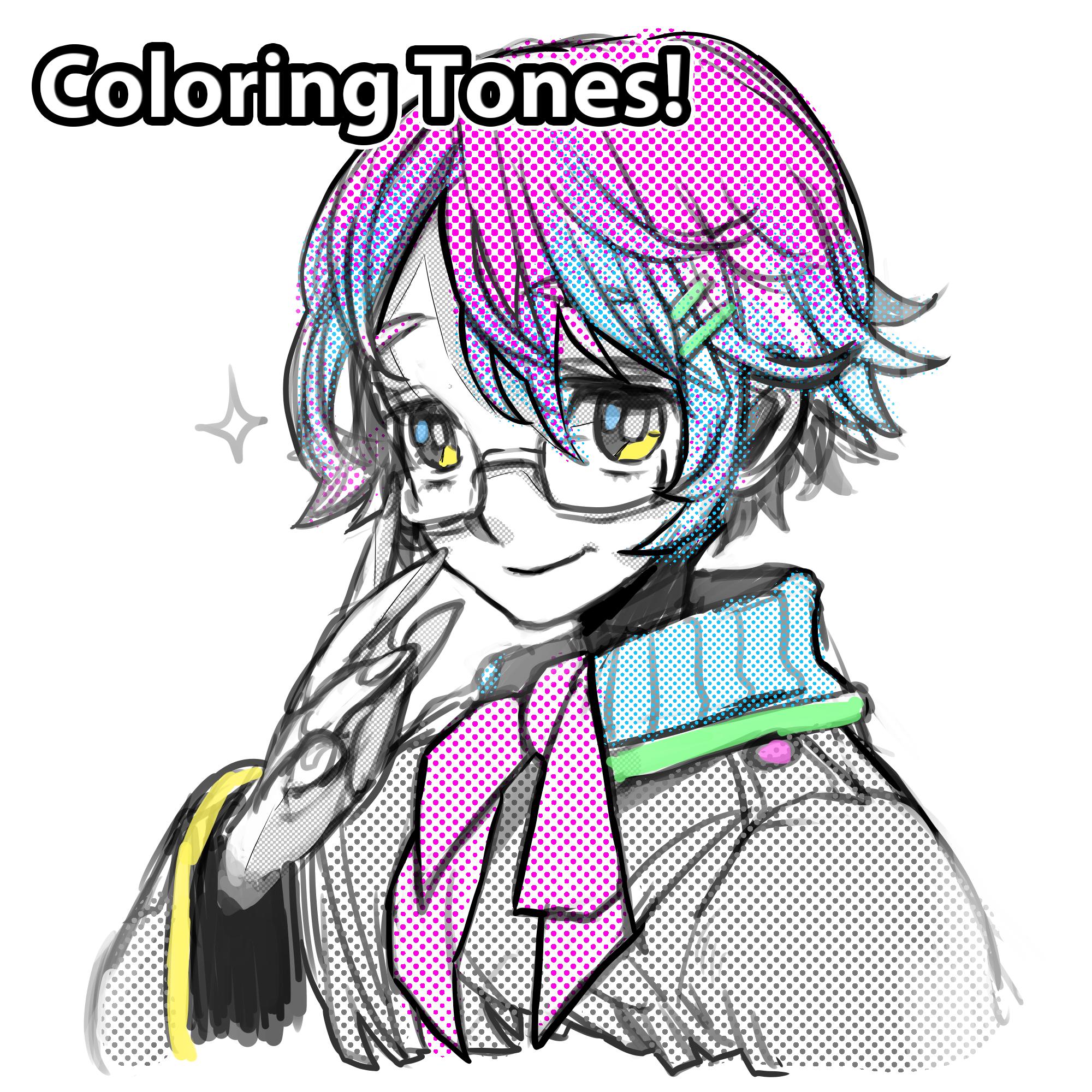 Coloring Tones in MediBang Paint | MediBang Paint