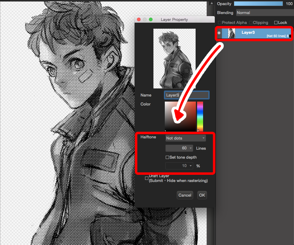 medibang how to open lauers