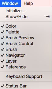 my color wheel palette and or brushes are gone how do i get them