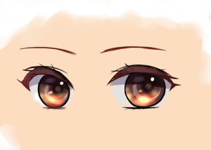 A simple guide for making eyes ~6 steps to draw translucent eyes~