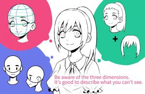 Is your face unbalanced? Get to the point and master the art of drawing faces!