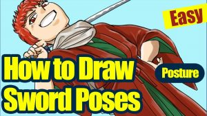 [Easy Tips] How to Draw Sword Poses [Enhance Your Character]