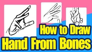 [Skill Up] How to Draw a Hand From Bones (Intermediate Level)