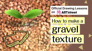 How to make a gravel texture