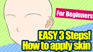 [Easy! 3 Steps] For beginners, how to apply skin.