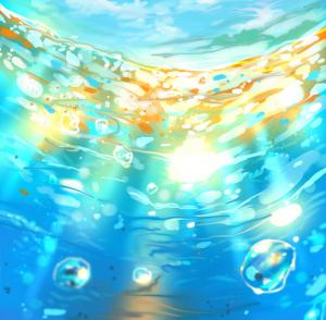 Cómo dibujar una escena submarina, por Ryky