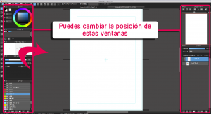 Cómo personalizar las ventanas en MediBang Paint Pro