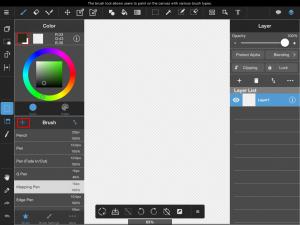 [iPad] Cómo agregar pinceles de la Nube