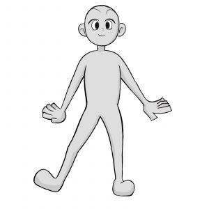 La realización de personajes de estilo de dibujos animados [Básico]