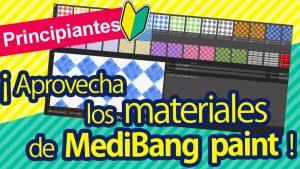 [Para principiantes] ¡Demasiado útil! Cómo aprovechar los materiales de MediBang Paint.
