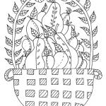 MI000105 Fruit basket