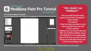 Introdução a MediBang Paint Pro por DyMaraway (inglês)