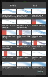 【Android】Como baixar pincéis da Nuvem no MediBang Paint