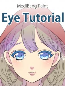 Desenhando olhos no MediBang Paint