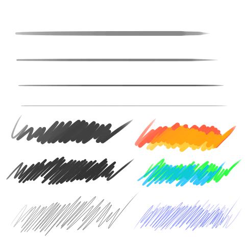 鉛筆(細)