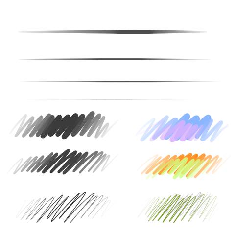 鉛筆(入り抜き)