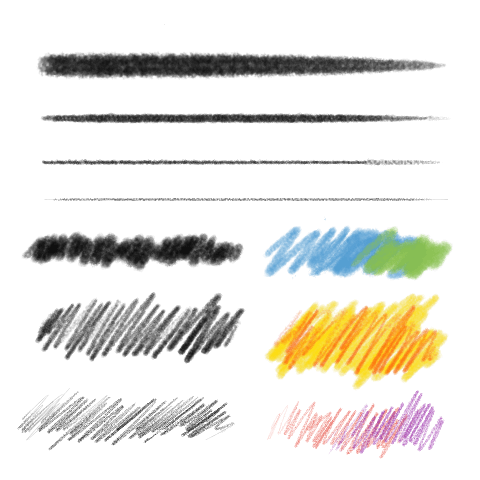 铅笔(粗糙)