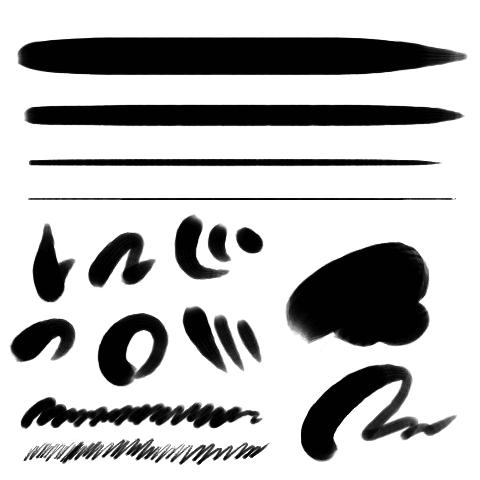 丸筆(ウェット)