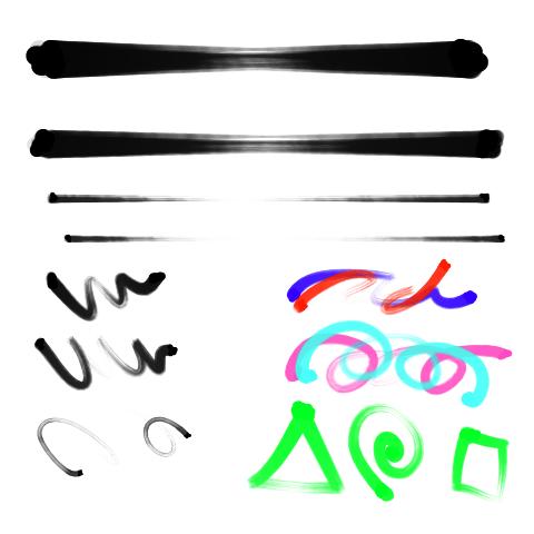 毛笔(水墨)3
