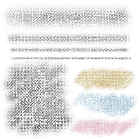 软粉笔(画布)