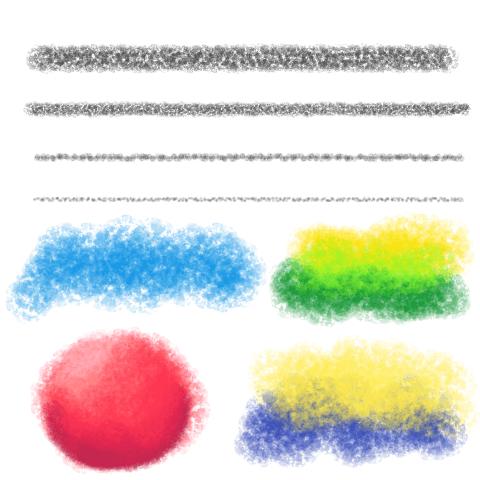 塑胶蜡笔(粗)