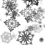 花(幾何学模様)1