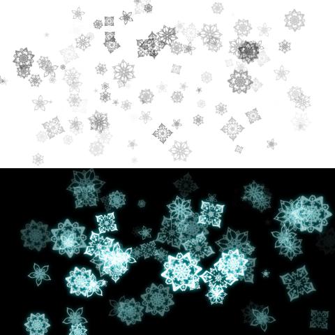 花(几何学纹样)1