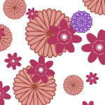 Flower (Japanese pattern) 2