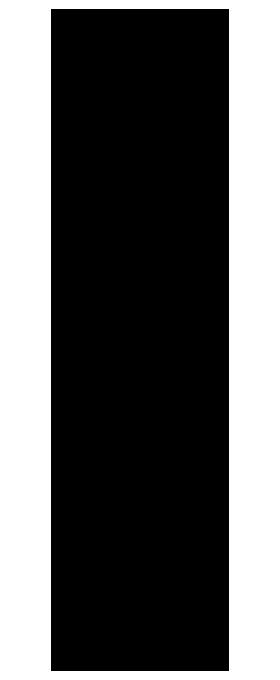 템플릿 선화(걷는여성5)