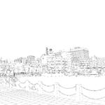 【ART street素材サンプル】港(横浜)