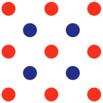 Tricolor Pattern 5 (Small)