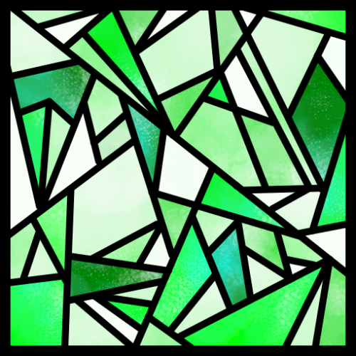 ステンドグラス7(大)
