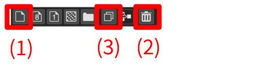 Layer window button
