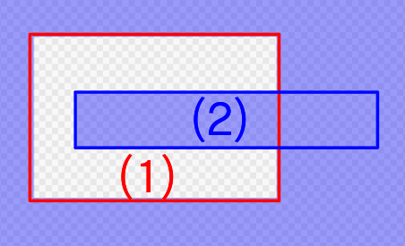 When selecting the selection range of (2) while holding down Ctrl for the selection range of (1)
