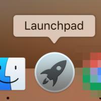 Launchpad를 열