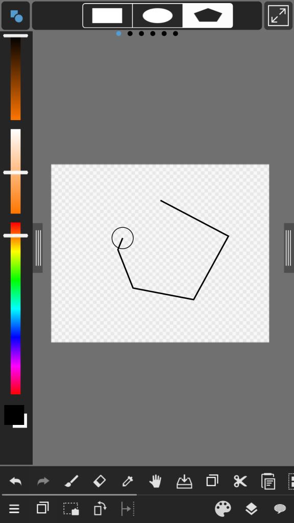多角形書き方