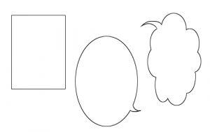 「選択境界の描画」でマンガのふきだしを描こう!