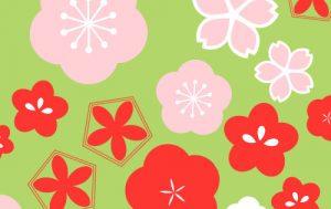 和柄イラストにも♪梅や桜に使える基本の五角形の描き方