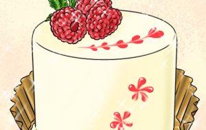 指先ブラシで簡単バレンタイン!お菓子のデコレーションに♪