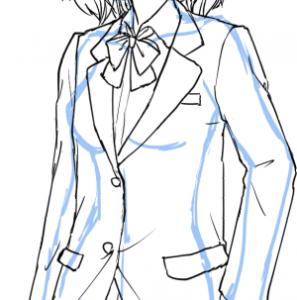 【女子編】制服の描き方【いろいろな制服を描いてみよう】