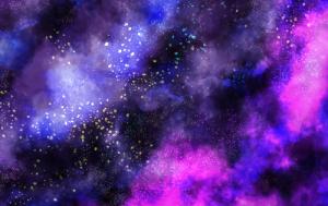 レイヤーブレンドを駆使して星空を描いてみよう!
