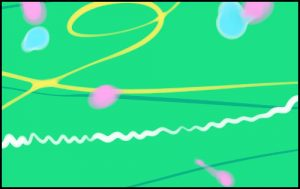 水風船の模様の描き方