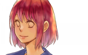 Color hair with the watercolor brush!
